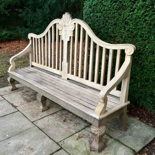 Bench at Fountains Abbey and Studeley Royal Water Garden