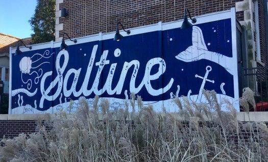 Saltine logo, Jackson, Mississippi