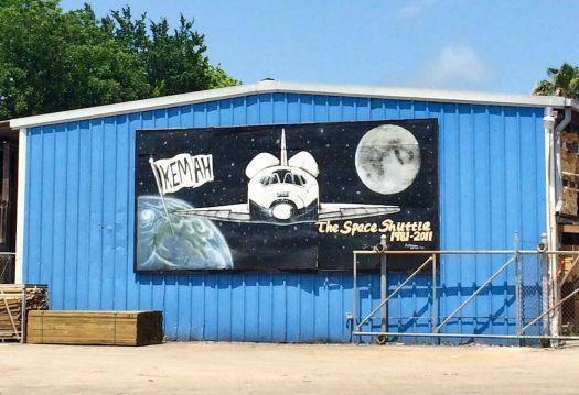 Space shuttle art